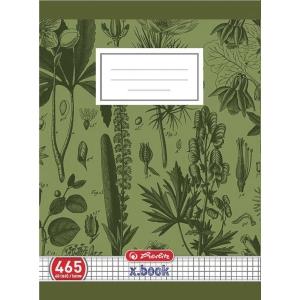 Herlitz füzet 465 négyzethálós, A4, 60 lap