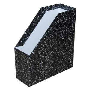 Somogy Rehab iratpapucs, extra fekete márvány, gerincszélesség: 9 cm