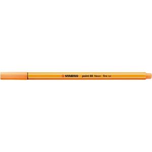 Stabilo Point 88 tűfilc, neon narancssárga
