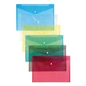 Patentos védőtasakok, A4, kék, 12 darab/csomag