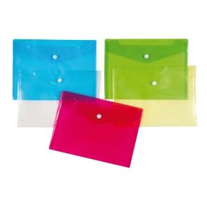 Patentos védőtasakok, A5, kék, 12 darab/csomag