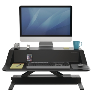 SIT-STAND WORKSTATION FELLOWES 0007901 LOTUS BLACK