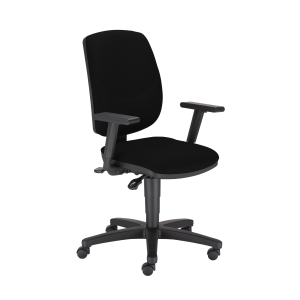 Nowy Styl Drop Ergon-Up R19T irodai szék, fekete