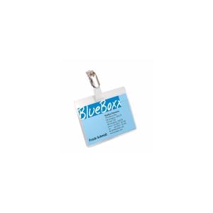 Durable csipeszes névkitűzők, méret: 60 x 90 mm (mag x sz), 5 darab/csomag