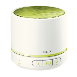 Leitz WOW hordozható Bluetooth hangszóró, zöld