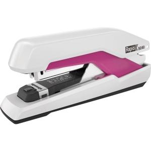 Rapid Supreme Omnipress SO60 nagykapacitású tűzőgép, 60 lap, fehér/rózsaszín