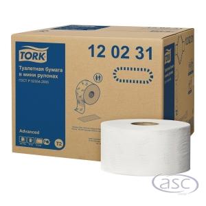 Tork Advanced Mini Jumbo 120231 toalettpapír, 12 darab/csomag