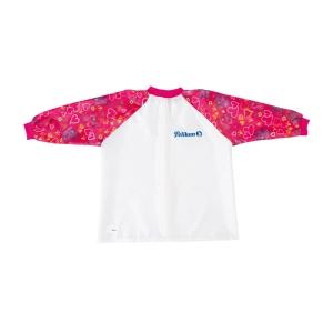 Pelikan gyerek festő kötény, hosszú ujjú, lányoknak – rózsaszín
