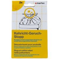 Kehricht-Geruch-Stopp Martec 33042, Packung à 2 Stück