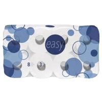 Toilettenpapier Easy, reine Zellulose, 3-lagig, 250 Blatt, Packung à 80 Rollen