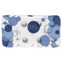 Toilettenpapier, Easy, reine Zellulose, 4-lagig, 150 Blatt, Packung à 80 Rollen