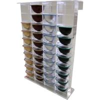 Dispenser für 40 Teekapseln, linear