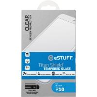 eStuff Schutzglas Titan Shield für Huawei P10, 0.3 mm