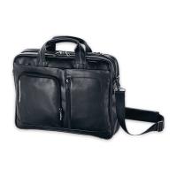 Businesstasche Gabol Shadow, 2 Fächer, 42x31x9 cm, schwarz