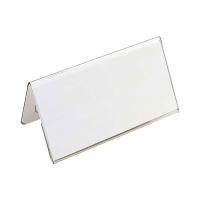 Tischnamensschild Durable 8051, 52x100 mm, aus Kunststoff, transp., Pk. à 25 Stk