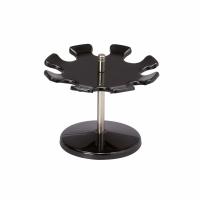 Stempel-Halter Maul, drehbar, für 8 Stempel, schwarz