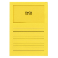 Organisationsmappe Elco Ordo Classico 29489, bedr., intensivgelb, Pk. à 100 Stk.