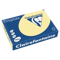 Kopierpapier Trophee 2636 A4, 160 g/m2, gelb, Packung à 250 Blatt