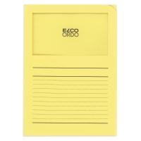 Organisationsmappe Elco Ordo Classico 29489, bedruckt, gelb, Packung à 100 Stück