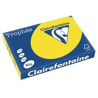 Kopierpapier Trophee 1264 A3, 80 g/m2, sonnenblumen gelb, Packung à 500 Blatt