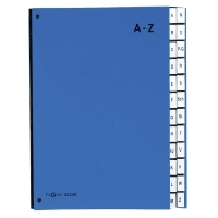 Ordnungsmappe Pagna A4, A-Z, blau