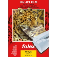 OHP-Folien Folex BG-32 Plus, A4, für den InkJet-Drucker, Packung à 50 Stück