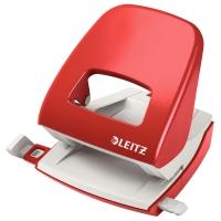 Locher Leitz 5008, Bürolocher, 30 Blatt, rot