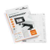 Ersatz-Einsteckschilder Durable 1459, 61x150 mm, weiss, Packung à 40 Stück