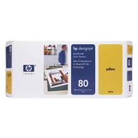 Druckkopf + Druckkopfreiniger HP Nr. 80 C4823A, yellow