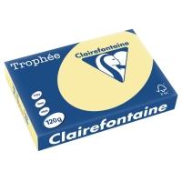 Kopierpapier Trophee 1248 A4, 120 g/m2, gelb, Packung à 250 Blatt