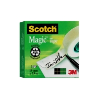 Klebeband Scotch Magic 810, 19 mmx33 m, beschriftbar