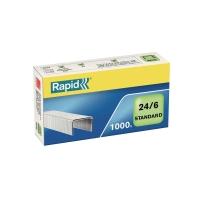 Heftklammern Rapid, 24/6, 6 mm, Packung à 1000 Stück