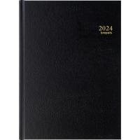 Agenda Bremax 001345, A4, 1 Tag pro Seite, 6sprachig, schwarz
