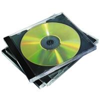 CD/DVD-Leerhüllen Fellowes, Jewel Cases, Packung à 10 Stück