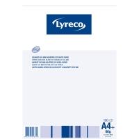 Notizblock Lyreco A4, 60 g/m2, 5 mm kariert, 100 Blatt