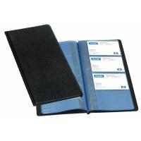 Visitenkartenbuch Elba 255x125 mm, schwarz