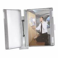 Wandelement Sichttafelsystem Tarifold Office 67143 A4, komplett, grau