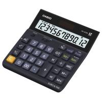 Tischrechner Casio DH-12TER, 12-stellige Anzeige, schwarz