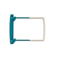 Zip Clipex Jalema Schlauchheftung 215 mm, grün/weiss, Pk. à 100 Stk.