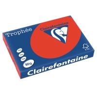 Kopierpapier Trophee 8375 A3, 80 g/m2, korallrot, Packung à 500 Blatt