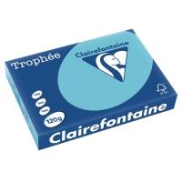Kopierpapier Trophee 1282 A4, 120 g/m2, blau, Packung à 250 Blatt