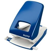 Locher Leitz 5138, Registraturlocher, 40 Blatt, blau