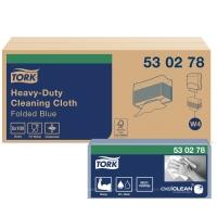 Reinigungstuch extra stark Tork Premium 530278, blau, Packung à 100 Stück