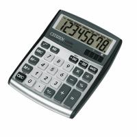 Tischrechner Citizen CDC-80, 8-stellige Anzeige, silber