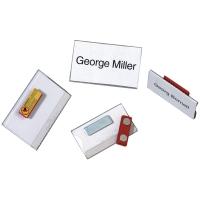 Namensschilder Durable 8116-19, 40x75 mm, mit Magnethaftung, Pk. à 25 Stk.