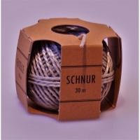 Schnur-Becher Flurocord 4100.090.35, 2,0 mm, 30m, braun