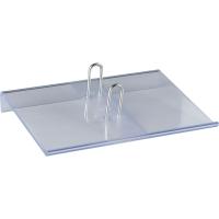 Kalendersockel Simplex 40266, Kunststoff, glasklar
