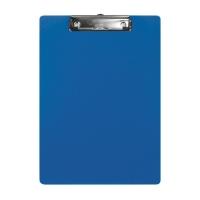 Schreibplatte Biella Scripla 349400 A4, Klemme auf der Schmalseite, blau