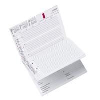 Kleinkalender Time/system für Business A5, mit Adressteil, deutsch