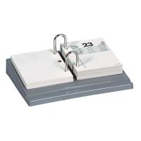 Kalendersockel Biella 880705, Kunststoff, grau